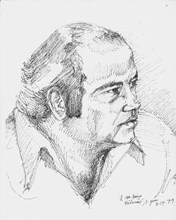 Hilario Hernandez in Cozumel