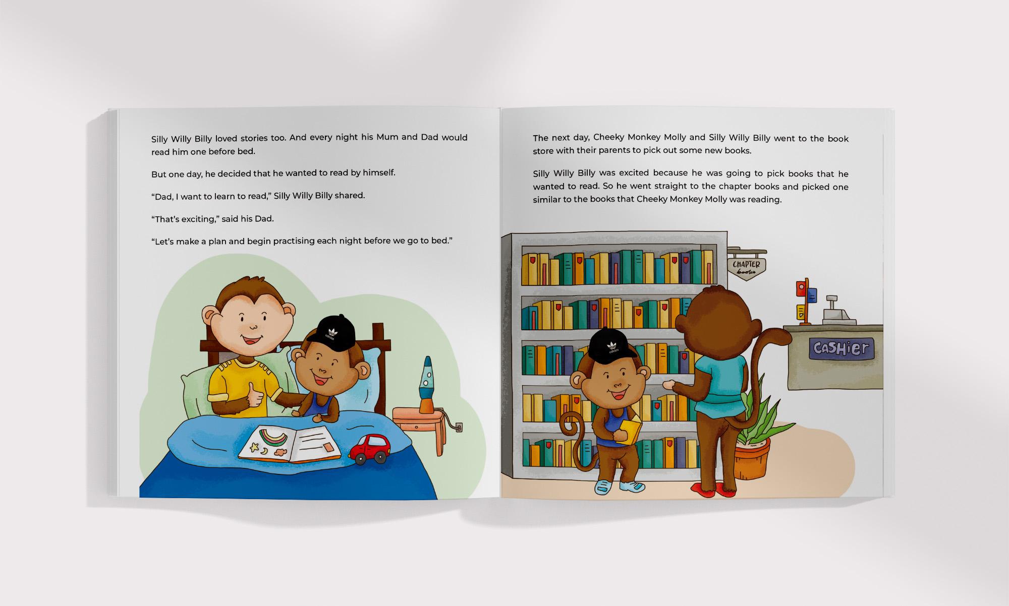 Cheeky Monkey Children Series