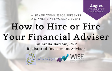 How to Hire or Fire Your Financial Adviser | AUG 21