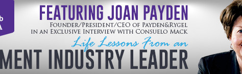 See Joan Payden, Industry Leader, at the Center Club  | Sept 13