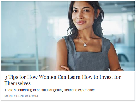 3 Tips for How Women Can Learn How to Invest for Themselves