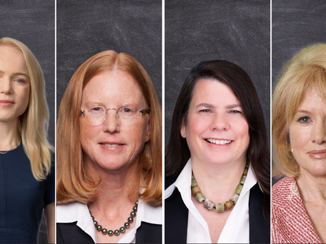 Tearing Down the Pink Wall: Members of Barron's Most Influential Women in Finance 2020