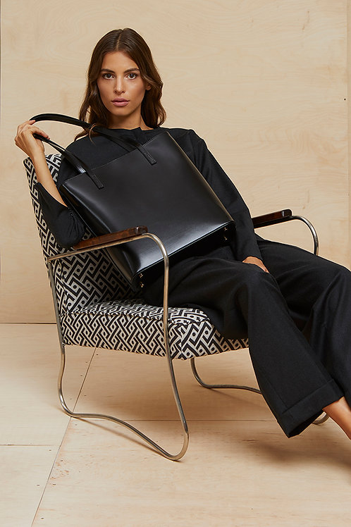 Black tote bag Pure Love