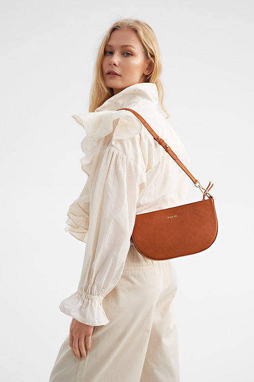 Half Moon Camel Bag