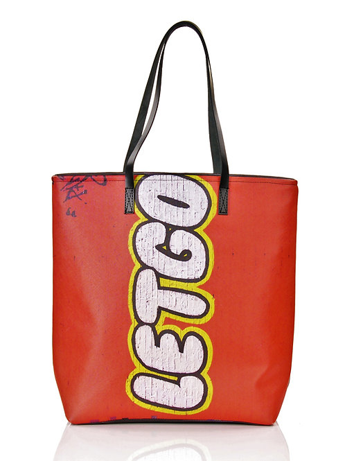 Duża torba z autorskim nadrukiem City #8 | Tote bag City #8