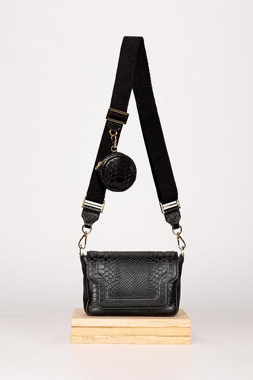 Mini Modern Black Mamba with a wallet