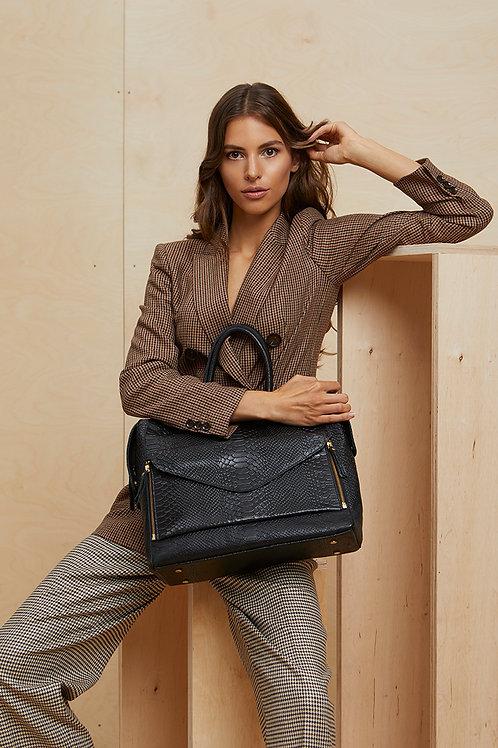 Skórzana torba na laptopa Office Love