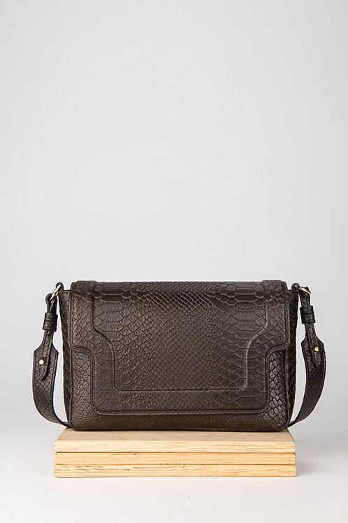 Leather bag Modern Choc Mamba