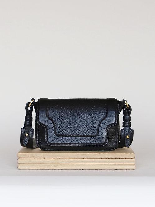 Crossbody handbag Tiny Modern Black Mamba