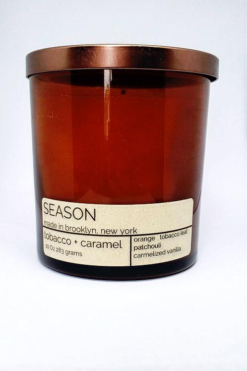 tobacco + caramel