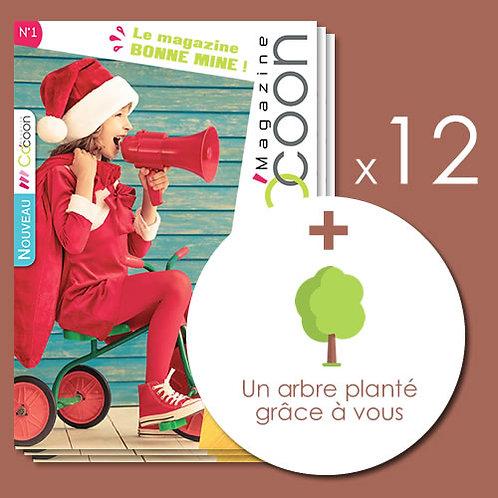 Abonnement 2 ans - 12 numéros + 1 arbre planté