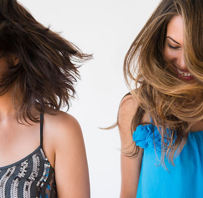 髪のモデル