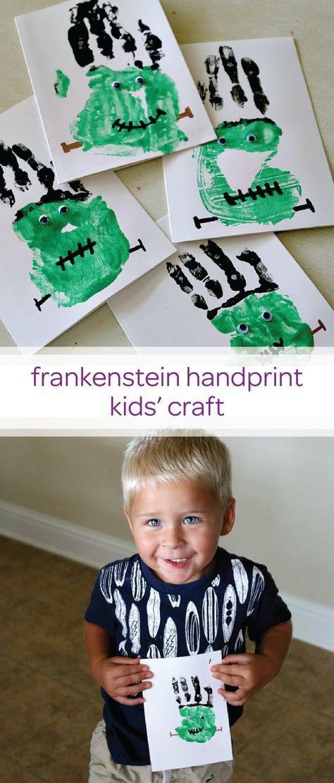 Fun and Easy Halloween Keepsake Crafts