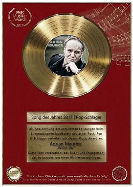 Adrian Maurice Deutscher Musikpreis 2017