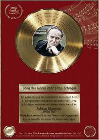Adrian Maurice - Deutschmusik Song Conte