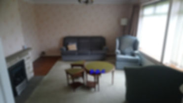 A room to be cleared by pristine property clearance. House clearance Bearsden