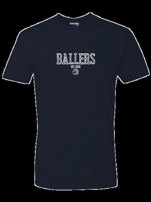 Ballers Est. 2020 T-Shirt (Navy)