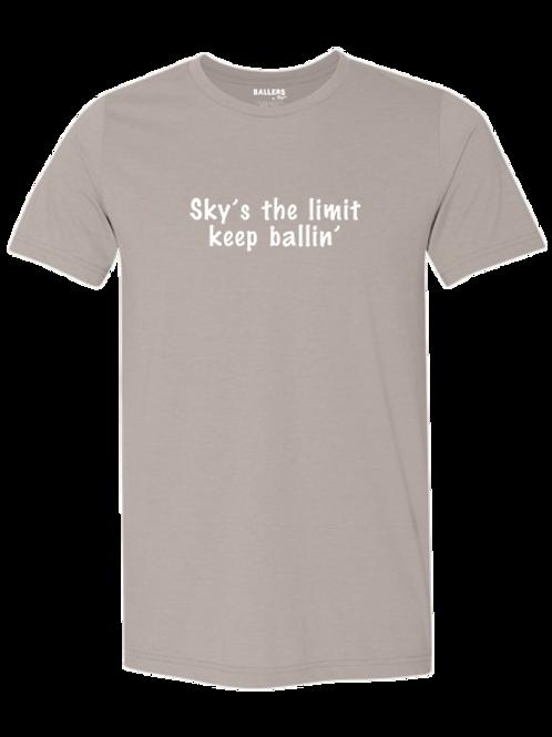 Sky's the Limit, Keep Ballin' T-Shirt (Sand)