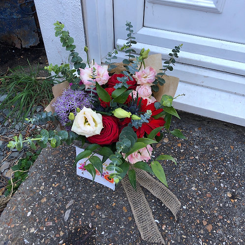 Bold Posy Flower Jar
