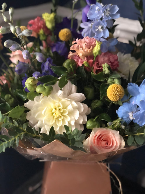 The Flower Subscription 6 - Plus One FREE Hand Tie DELIVERY