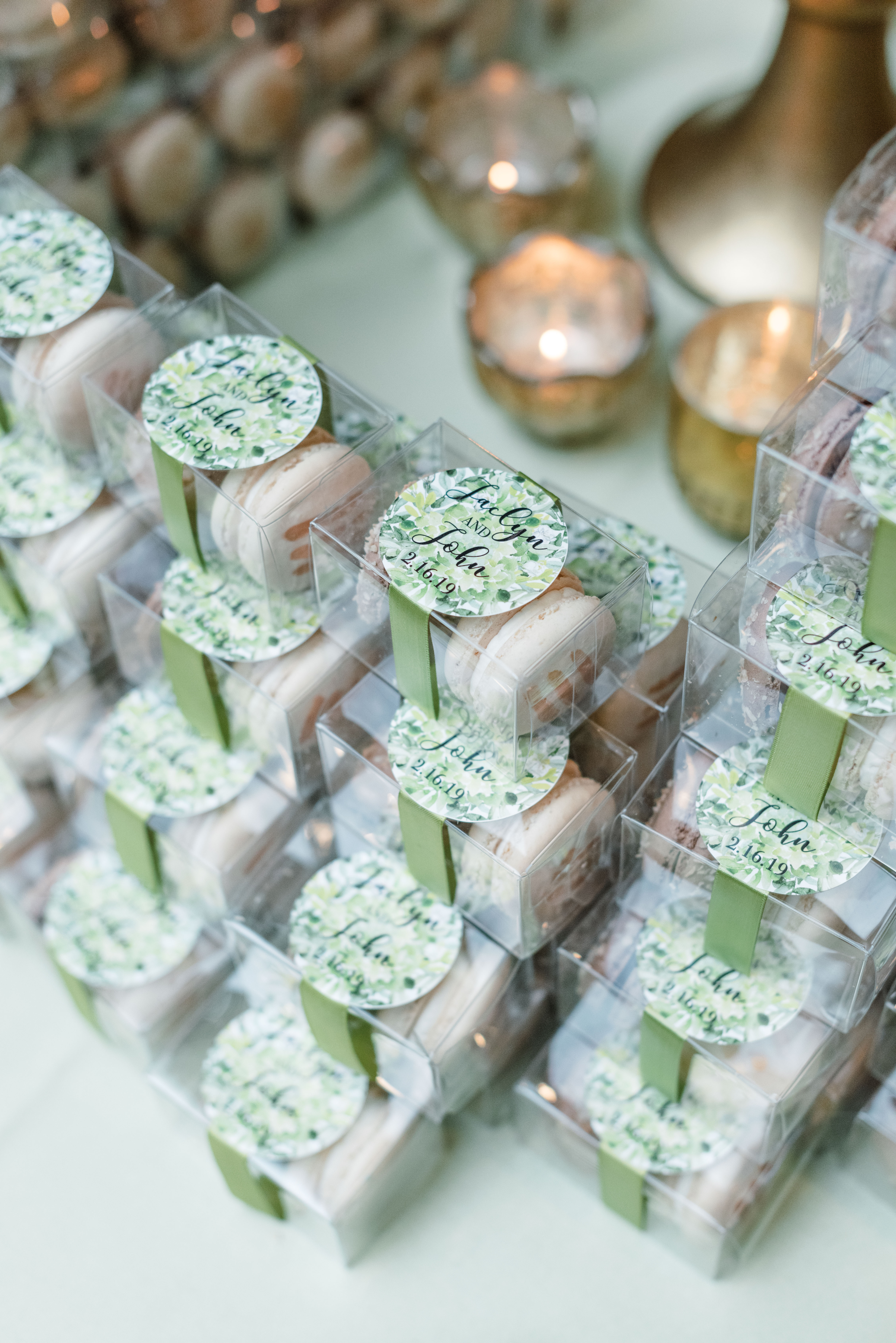 Macaron Party Favors