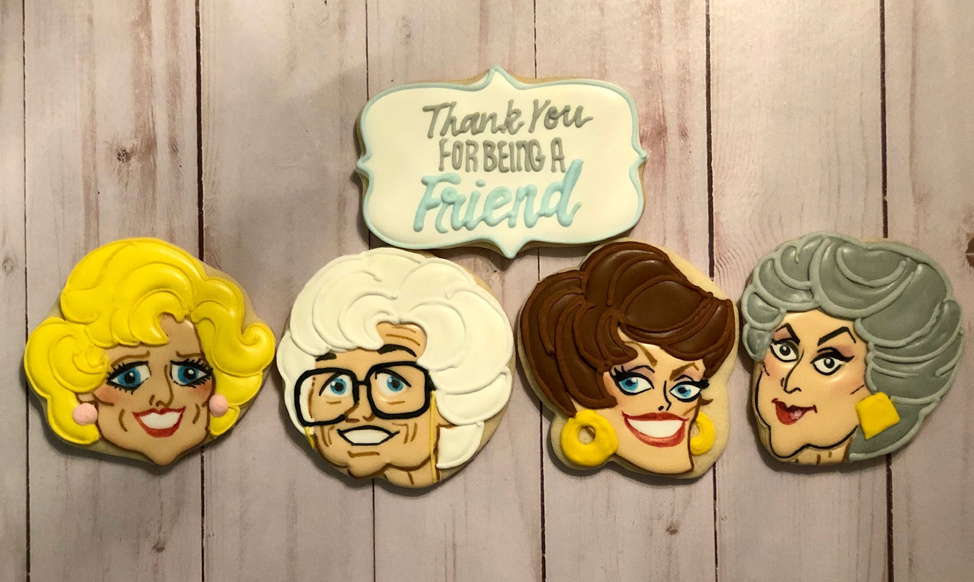 Golden Girls Custom Cookies