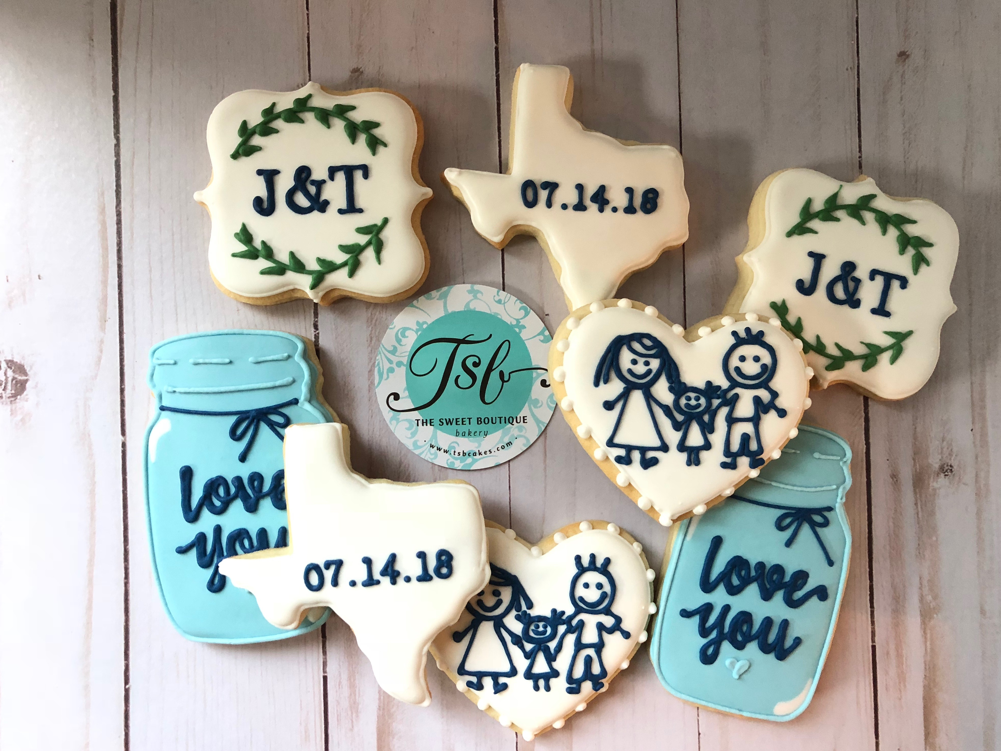 Wedding Cookie Flavors