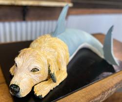 Dog-Shark Grooms Cake