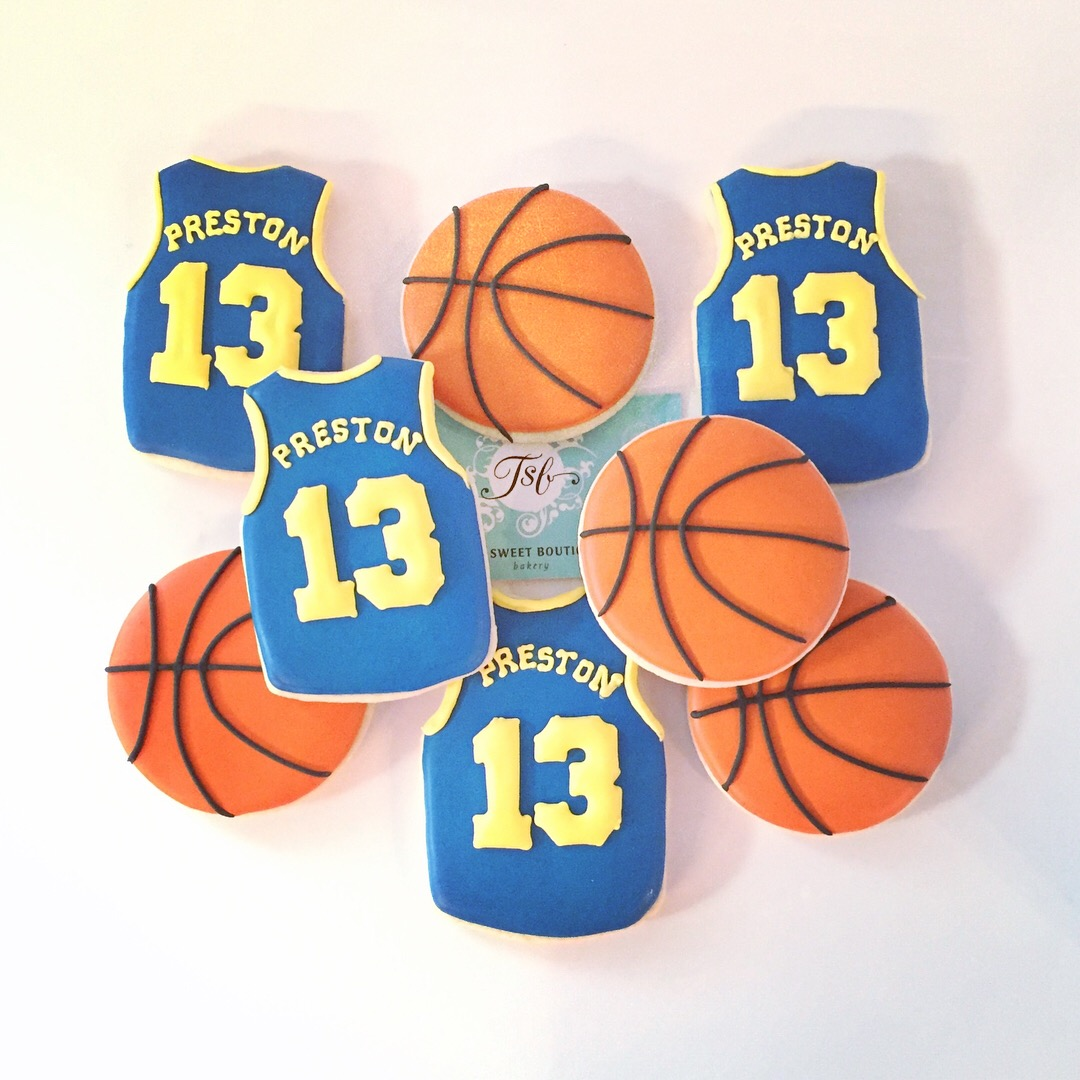 Basketball Custom Cookies