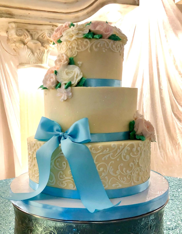 Quinceanera Custom Cake