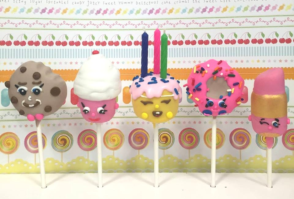 Shopkins Cake pops