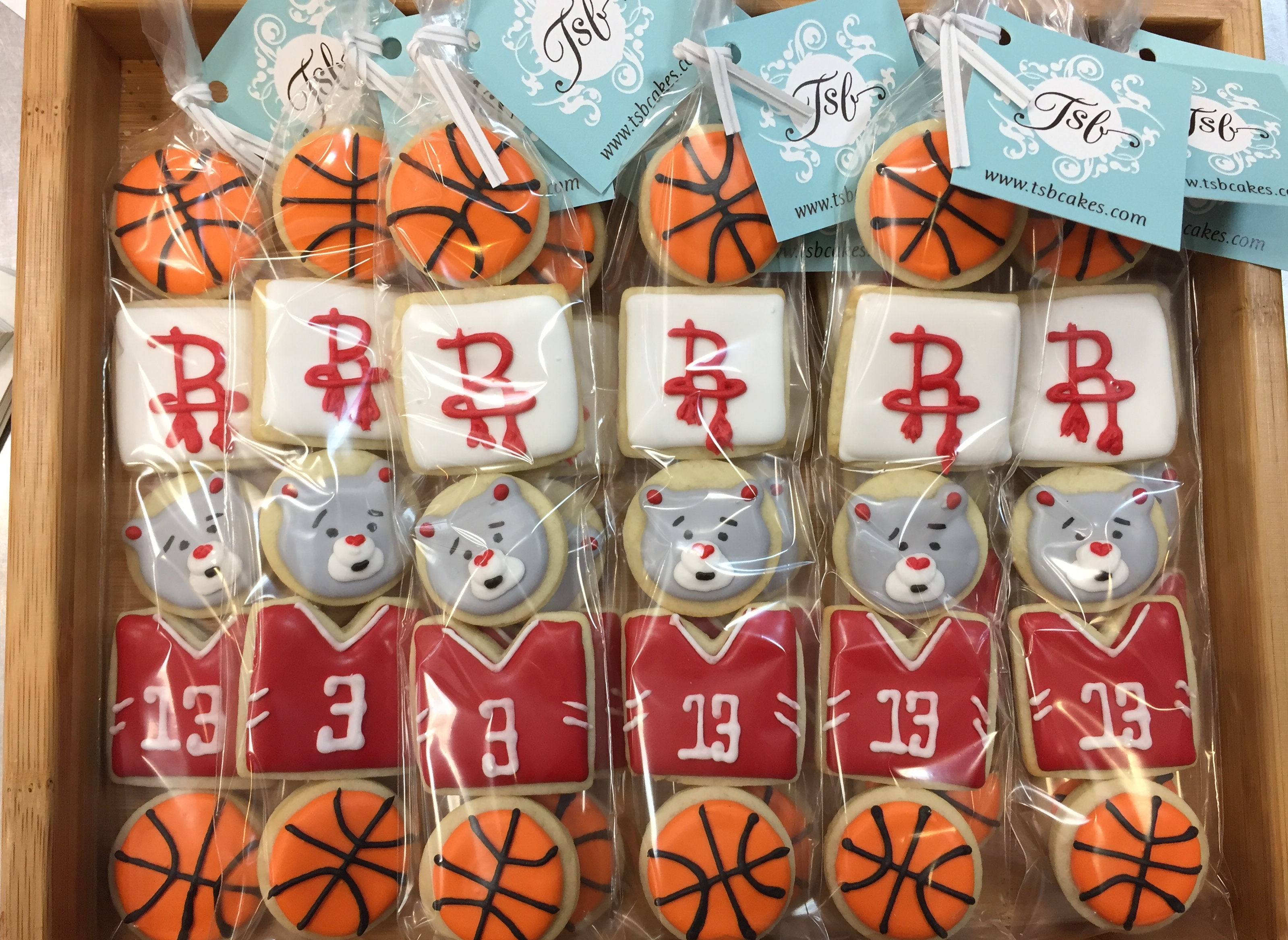 Rockets Mini-Cookie Set