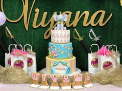 Girl Circus Birthday Cake