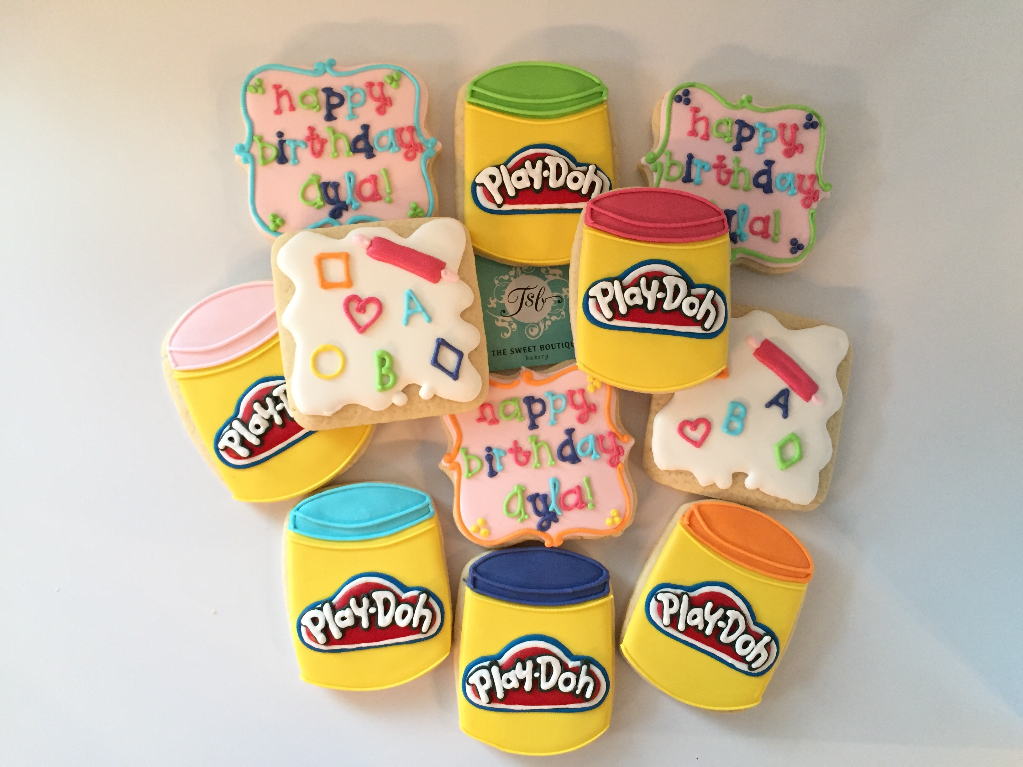 Play-Doh Cookies