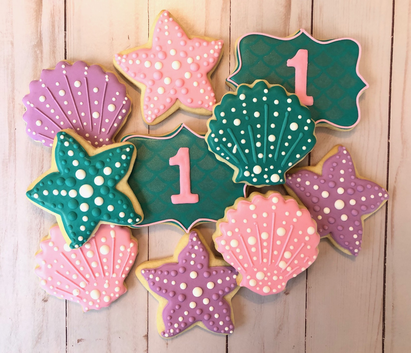 Seashell & Starfish Cookies