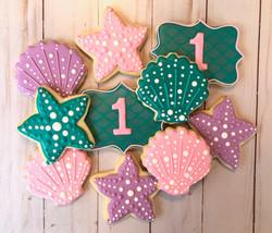 Seashell & Starfish Cookies