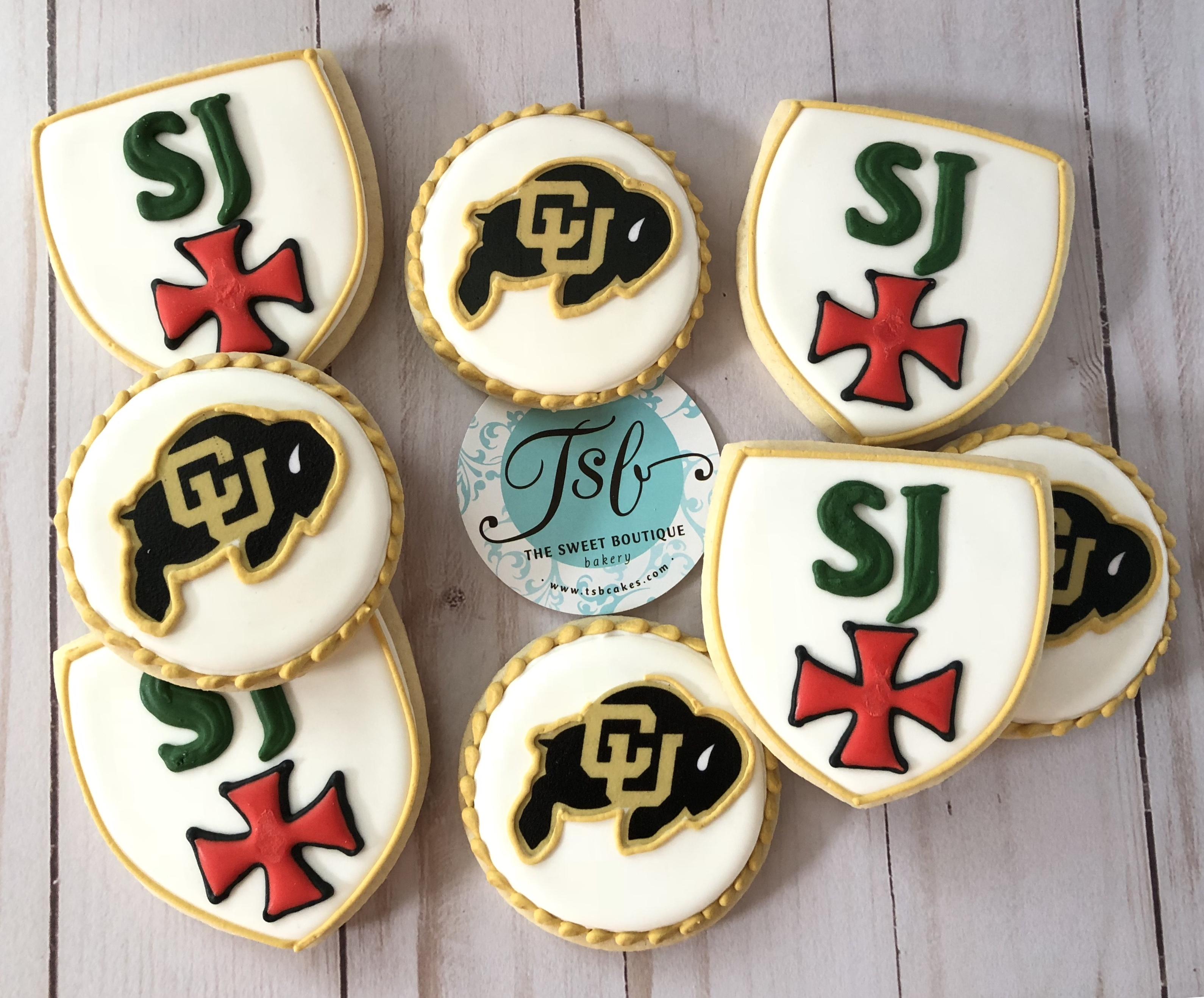 Strake Jesuit Graduation Cookies