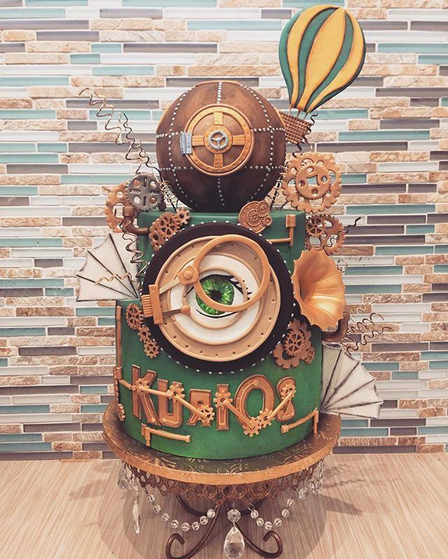Custom Cake for Cirque du Soleil