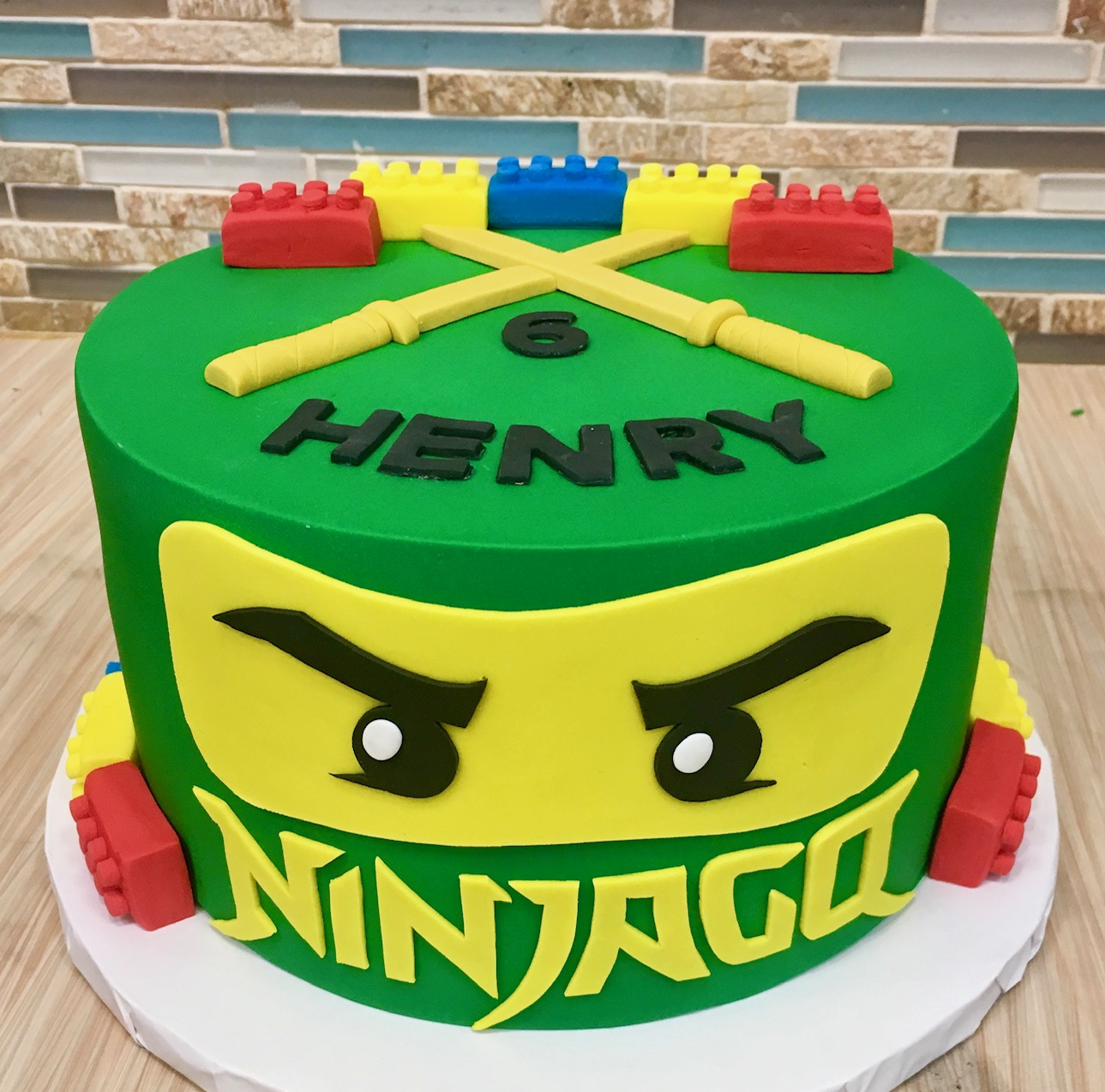 Legos Ninjago Custom Cake