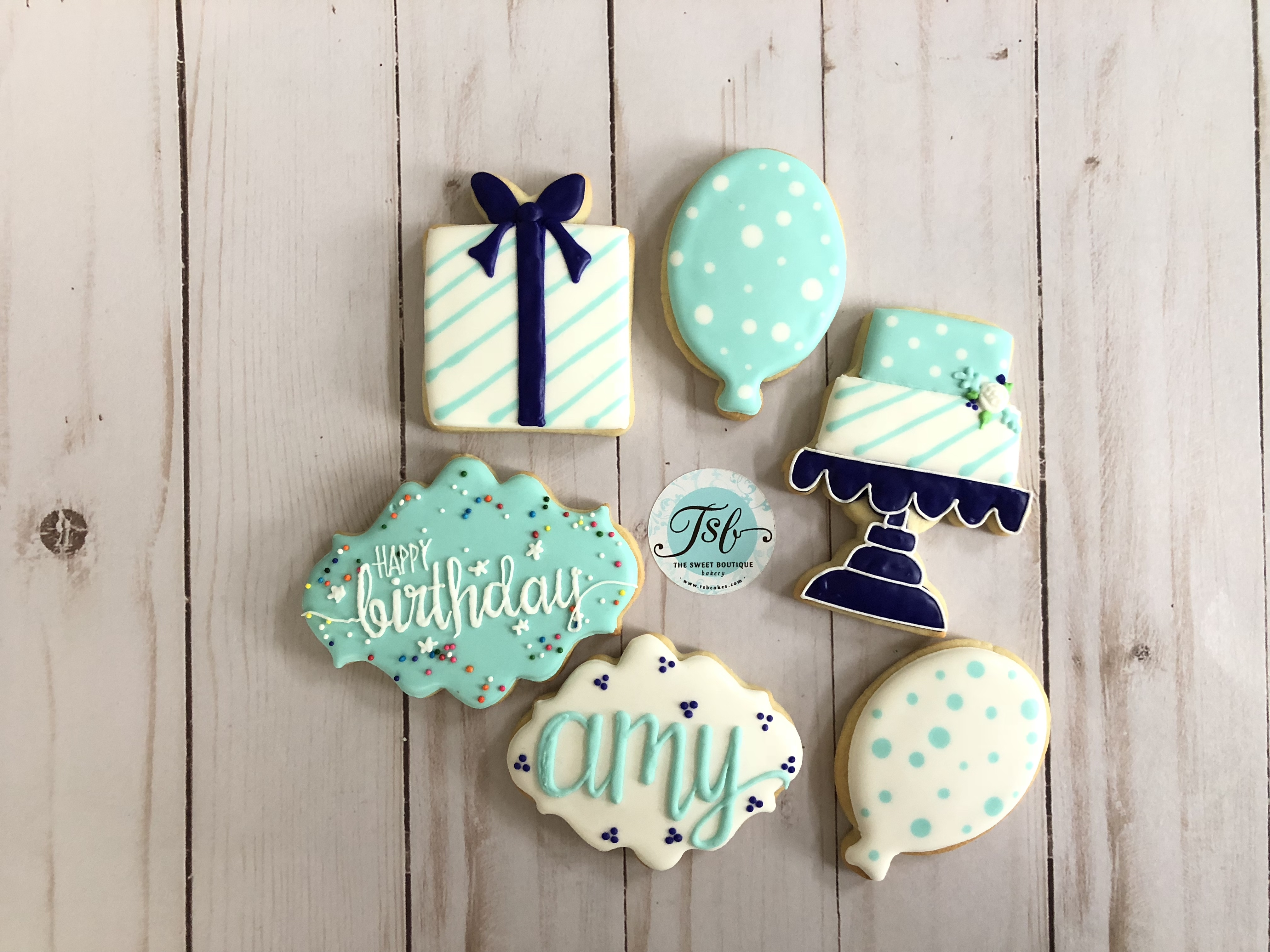 Birthday Cookie Set