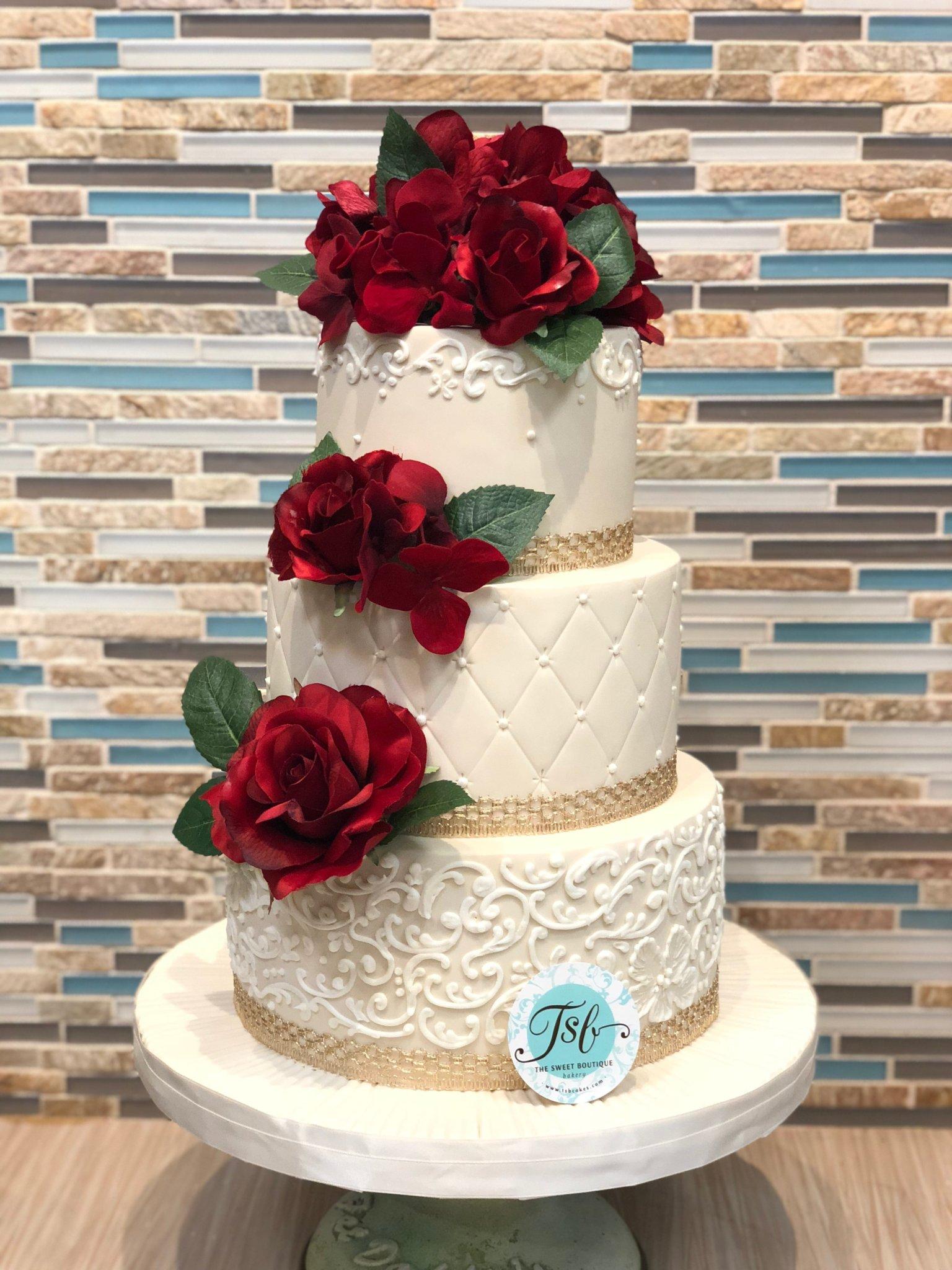 Classic Wedding Cake Design