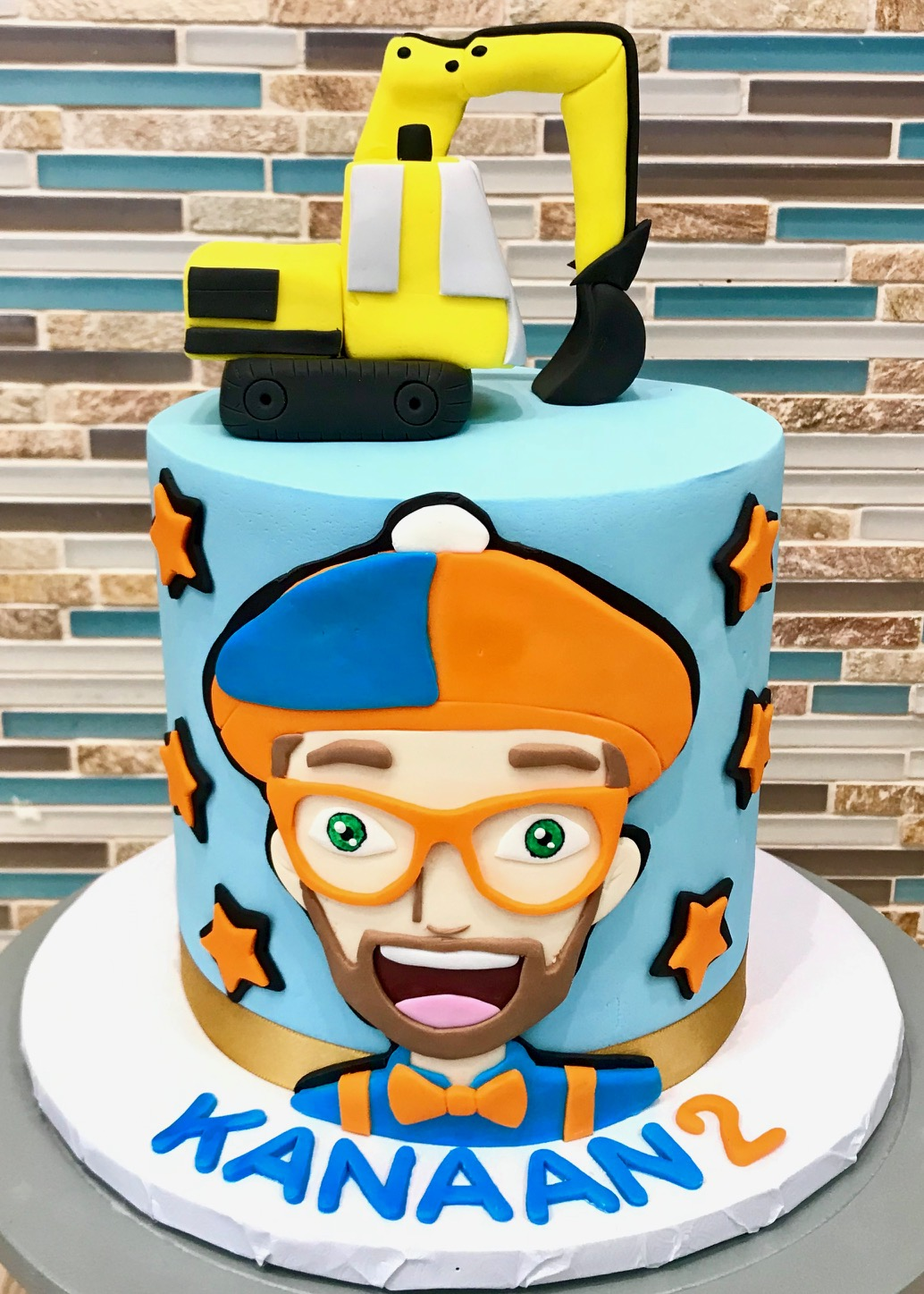 Blippi Birthday Cake