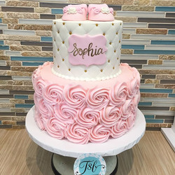 Baby shower cakes! Congratulations on yo