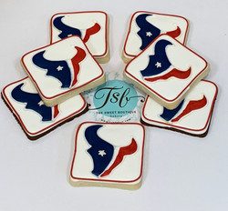 USA, USA! Oh wait this is Texans cookies
