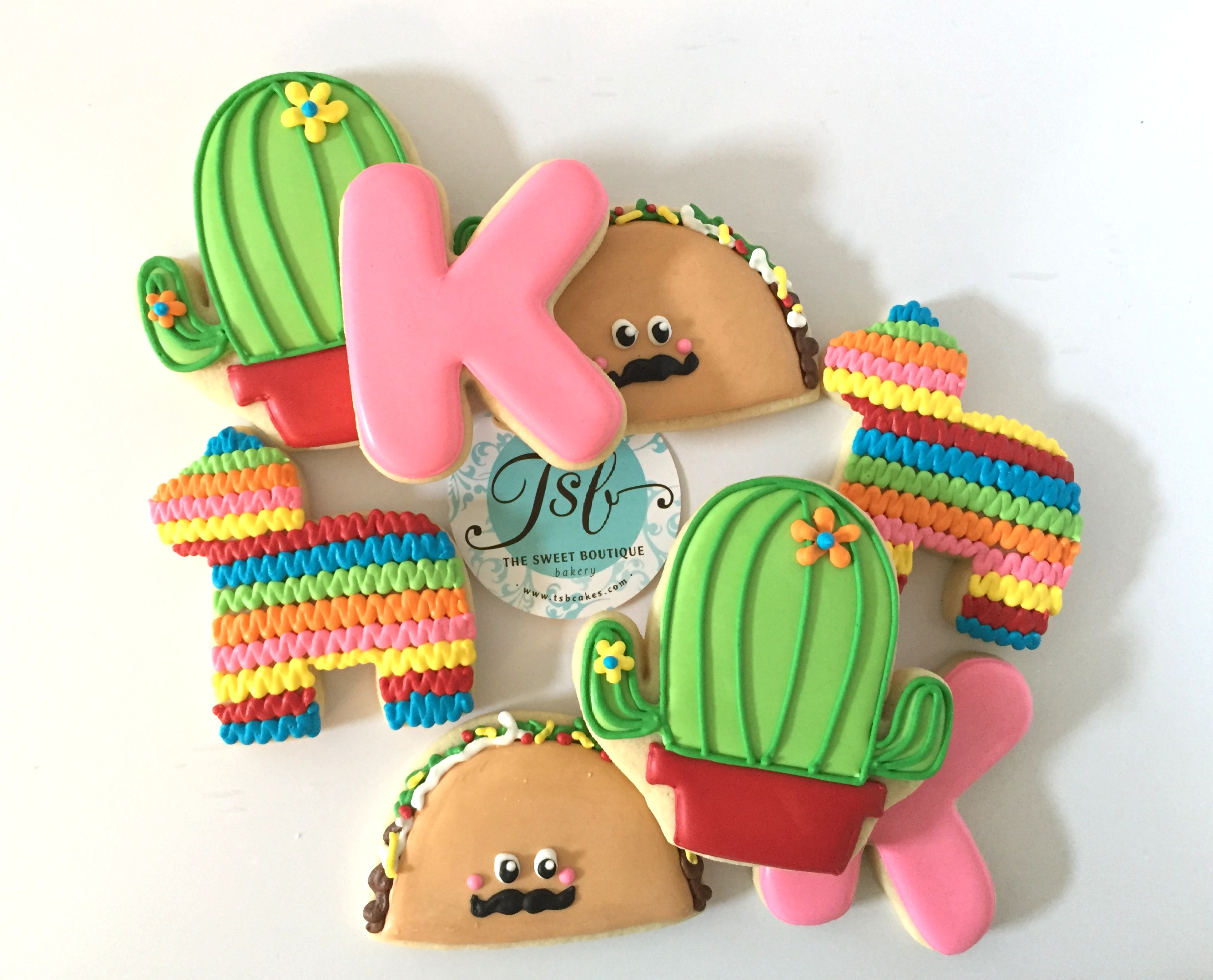 Fiesta Themed Cookies