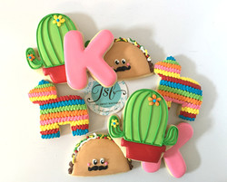 Fiesta Themed Cookies