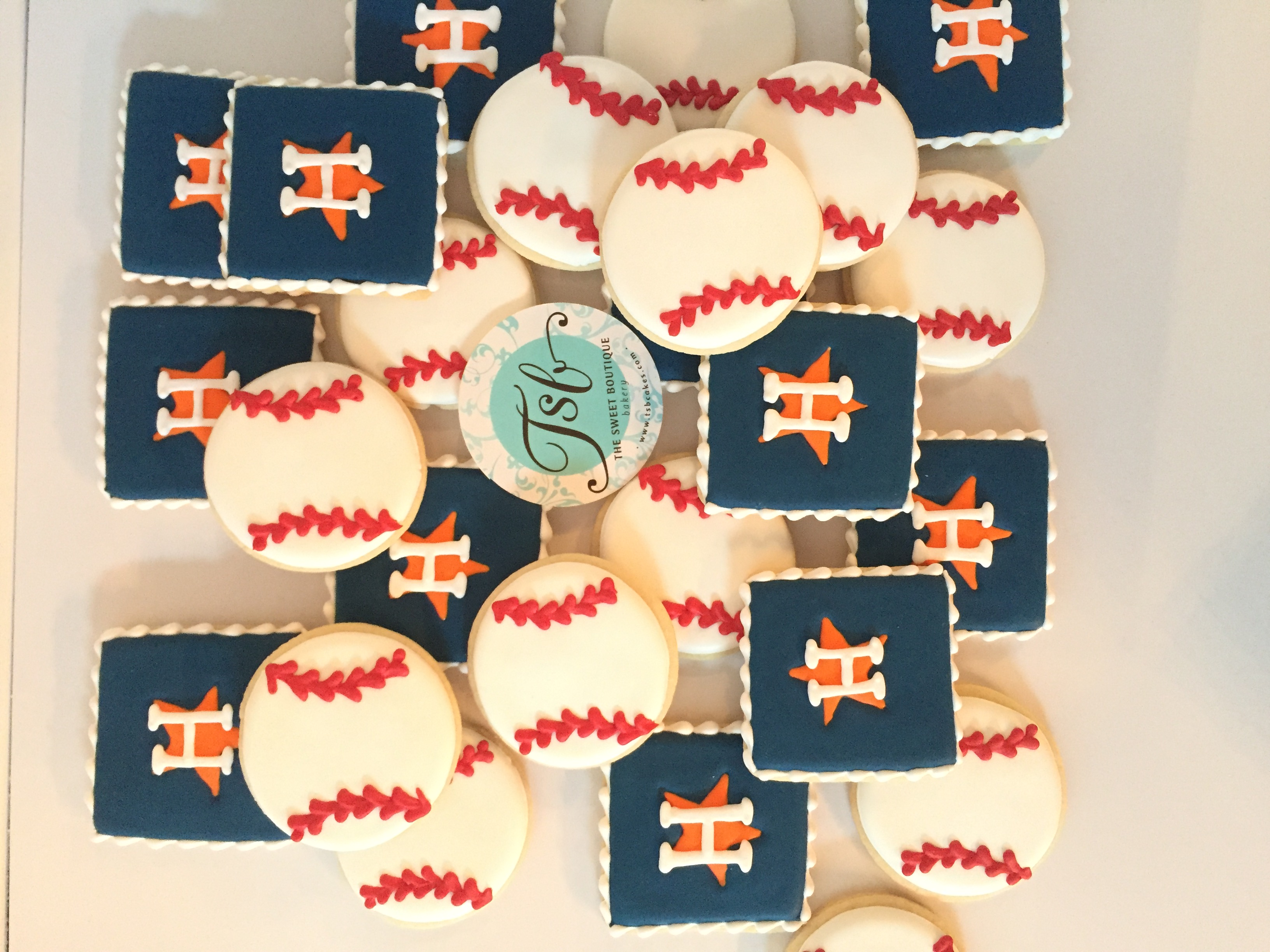 Houston Astros Cookies