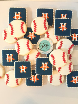 Houston Astros Cookies