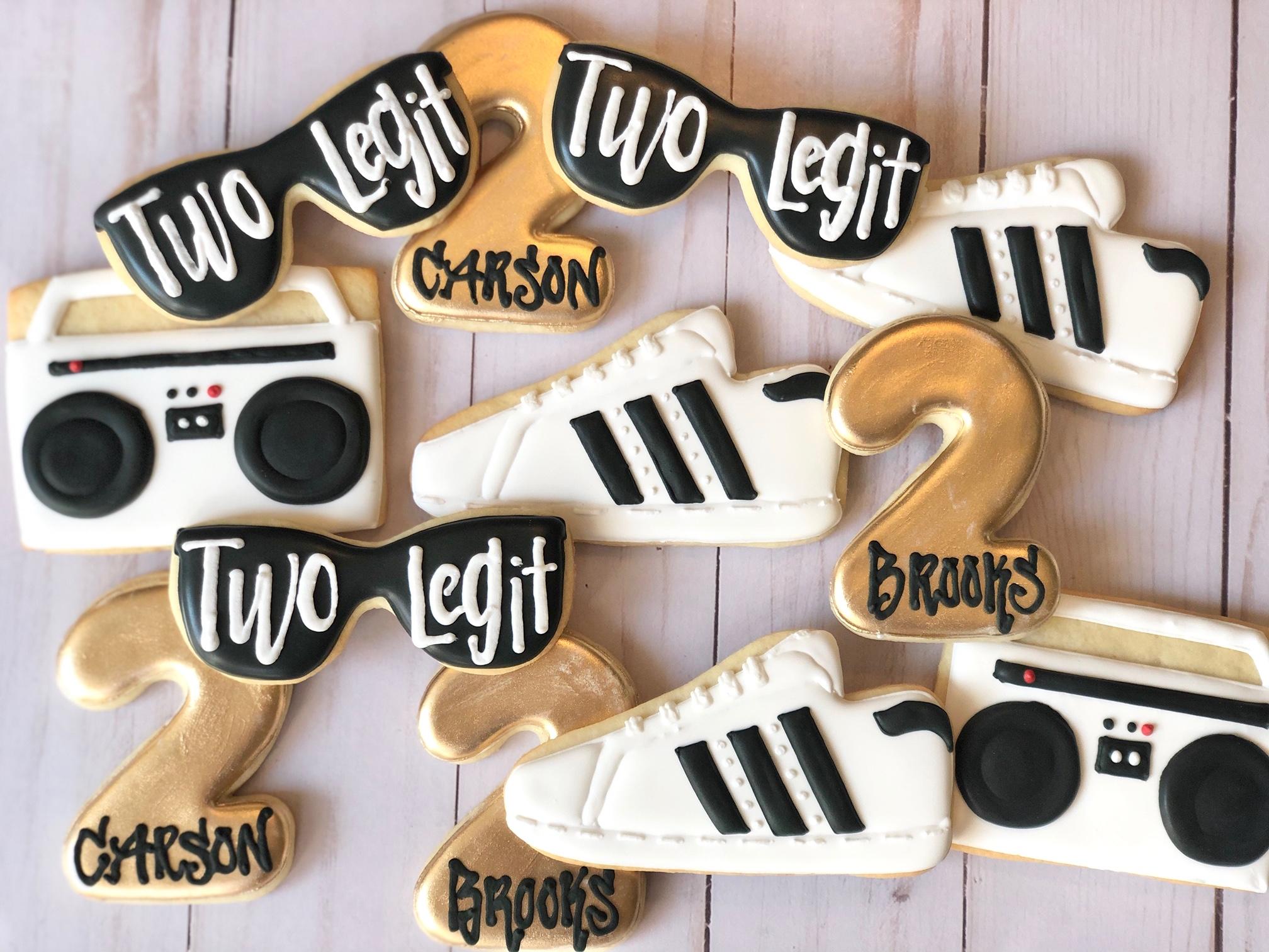 Two Legit Custom Cookies