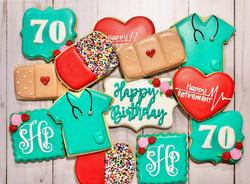 Nurse's Birthday Cookies